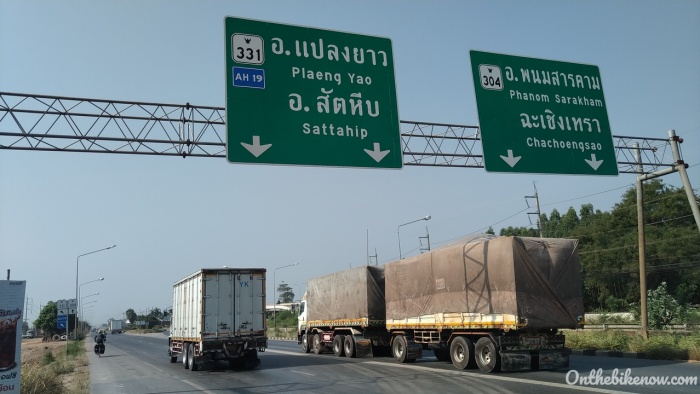 En route vers Pattaya