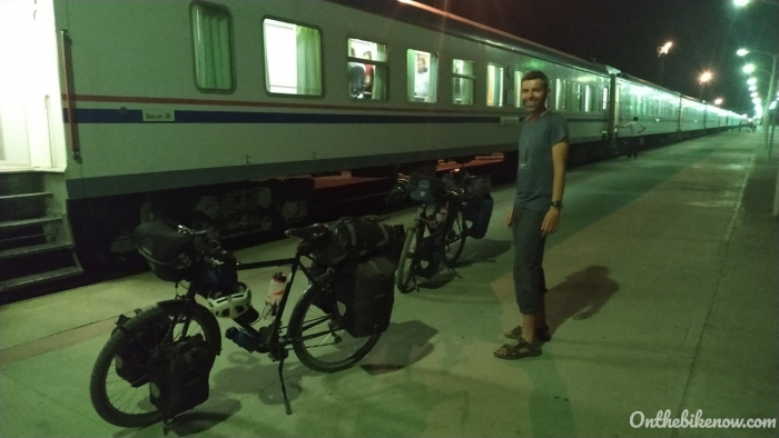 Train de nuit Mary - Turkmenabat